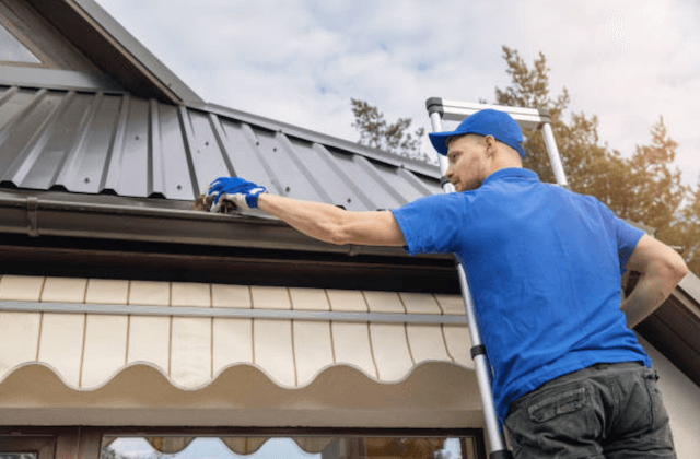 gutter cleaning in erie